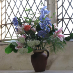 Church flowers July 2016