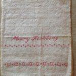 Mary Fickling sampler 1897