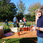 Orchard juicing day